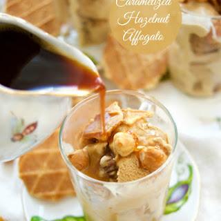 Caramelized Hazelnut Affogato.