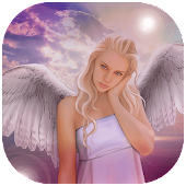 Cute Angel Wings Photo Editor
