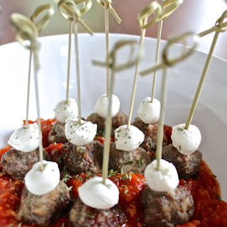 Meatballs on a Stick (An App invented by my husband)