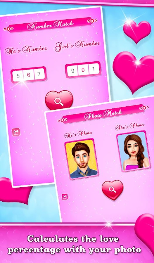 Valentine Love Compatibility Test- screenshot