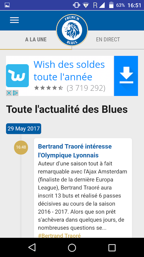 French Blues – Capture d'écran