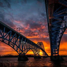 GI BRIDGE by Anita Richley - Buildings & Architecture Bridges & Suspended Structures