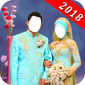Muslim Couple Photo Suit Maker