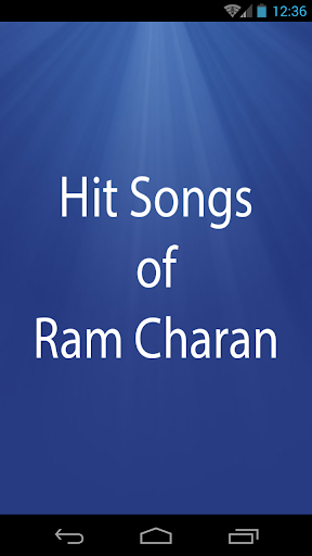 Hit Songs of Ram Charan