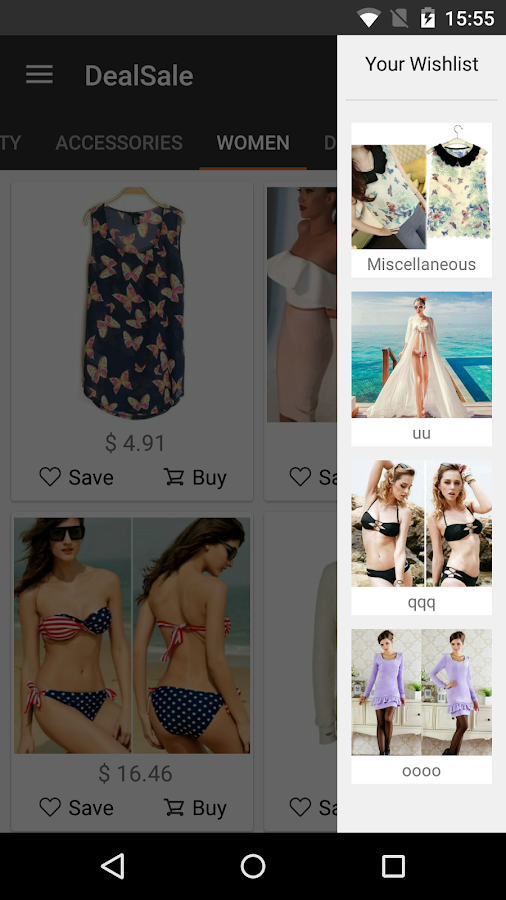 DealSale - Fashion for You- screenshot
