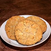 White Chocolate Oatmeal Cookie