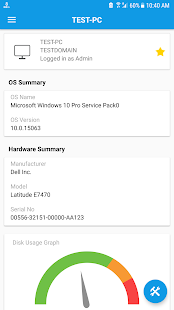 System Tools - Remote desktop manager, Admin tools - náhled
