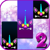 Unicorn Piano Tiles Icon