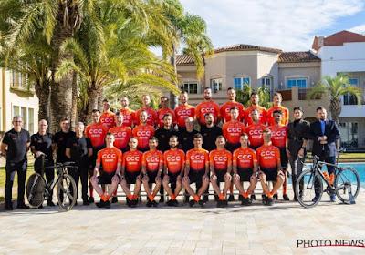 CCC Team met zes debutanten en een Belg naar de Vuelta
