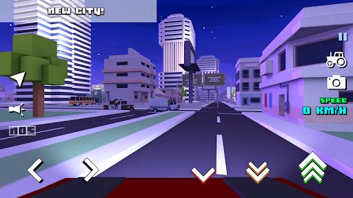 Blocky Farm Racing & Simulator - free driving game screenshots 13