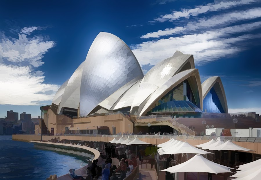 Sydney Opera House by Stefano Geminiani - Buildings & Architecture Public & Historical ( australia, buildings, nik software, sydney, photoshop )