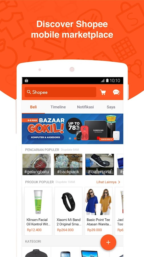 Screenshots of Shopee: Jual Beli di Ponsel for iPhone