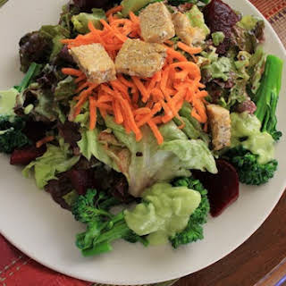 Basic Avocado Salad Dressing.