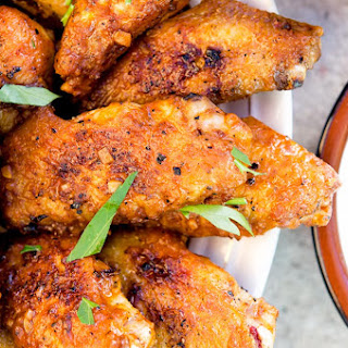 Devilishly Spicy Hot Wing.