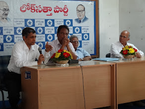 Photo: Dr. JP speaking at DEOs meet