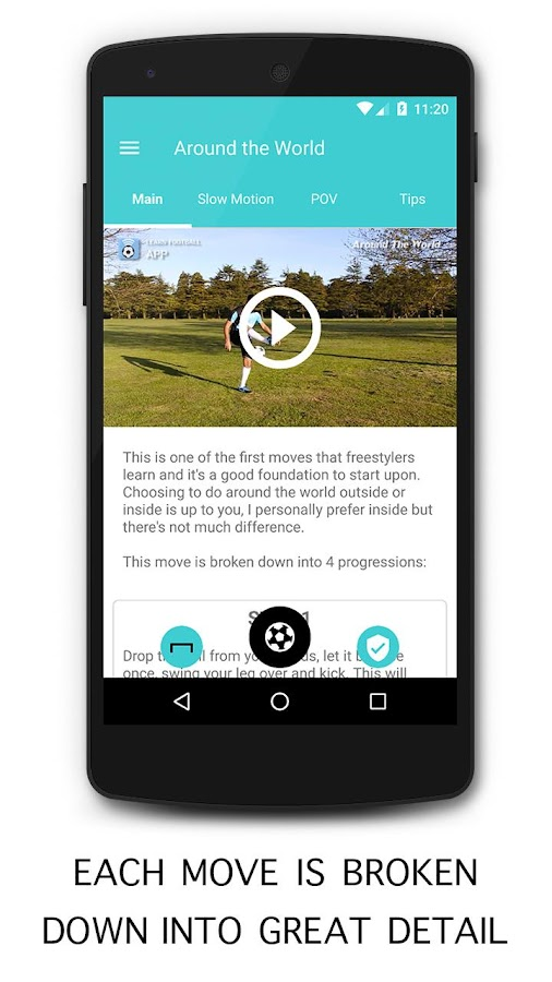 Learn Football App- screenshot