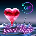 Gif Good Night & Sweet Dream Wishes Love icon