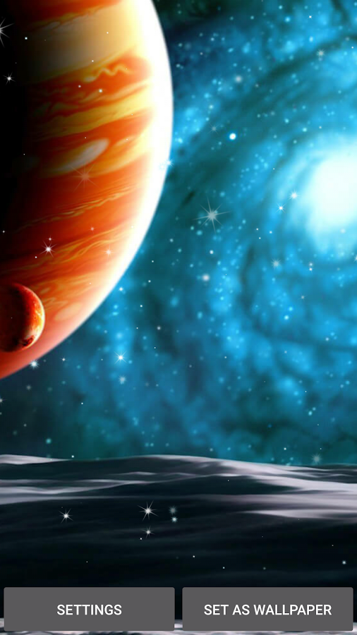 Planets Live Wallpaper- screenshot