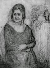 Photo: The Artist's Wife Sophia 1950s