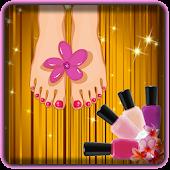 Foot Nails Art - Toe-nail game