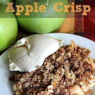 Clean Eating Apple Crisp.