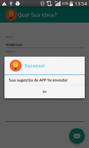 android Qual sua ideia? Screenshot 1