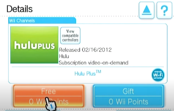 How to download Hulu Plus on Nintendo Wii 2