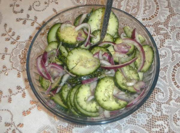 Cukes & Red Onions