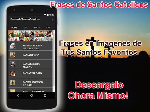Descargar Frases De Santos Catolicos Google Play Apps