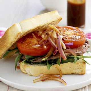Barbecue Steak Sandwich