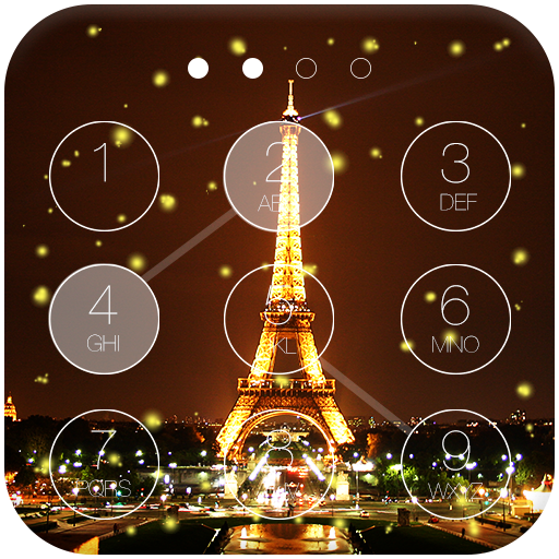 Paris Lock Screen Live WP