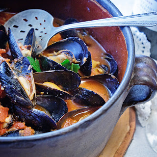 Cajun Mussels