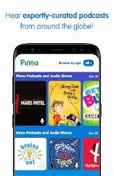 Pinna: podcasts, music & audio books for kids APK screenshot thumbnail 18