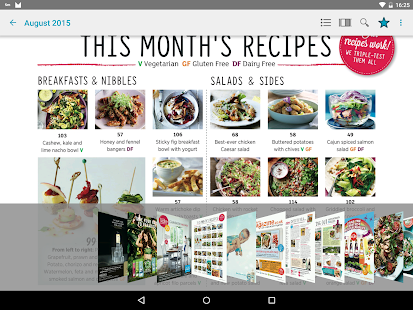 Sainsbury's magazine- screenshot thumbnail
