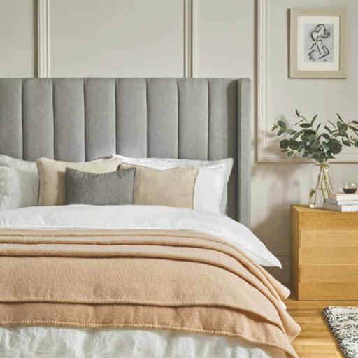 John Atkinson Harlequin Wool Blanket Pink