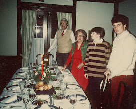Photo: Christmas dinner at the Connor's--where are all the others?