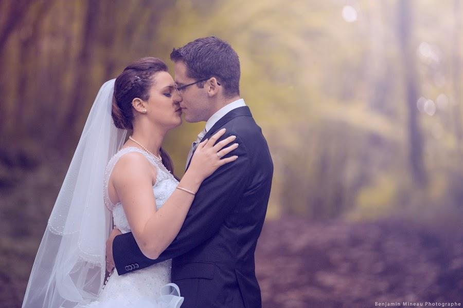 Wedding photographer Benjamin Mineau (Mineau). Photo of 14.04.2019