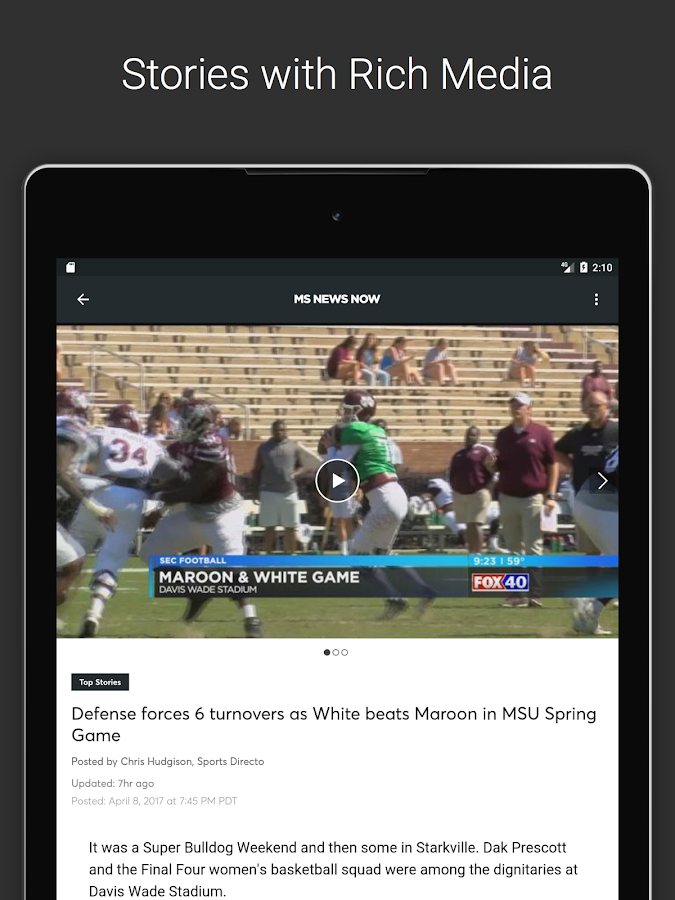 MSNewsNow- screenshot
