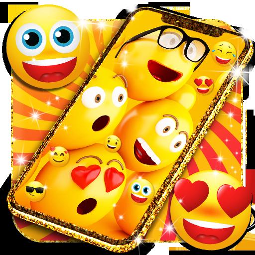 Funny Smiley Face Emoji Live Wallpaper Aplicații Pe Google