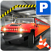Limo Car Parking Multi-Level City Driving School