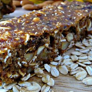 Nutrient-Dense Granola Bars [Vegan, Gluten-Free].