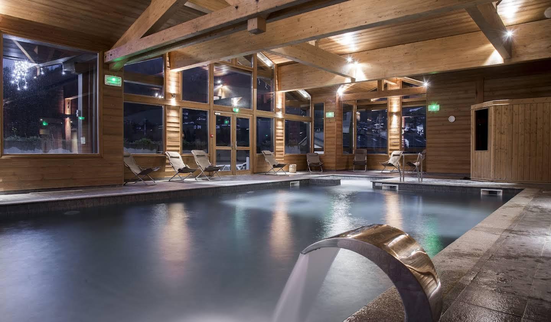 Appartement avec piscine La Clusaz