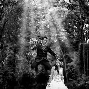 where are U... my Love  :) by Daniel Chang - Wedding Bride & Groom