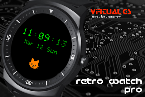 Retro Watch Pro Screenshot