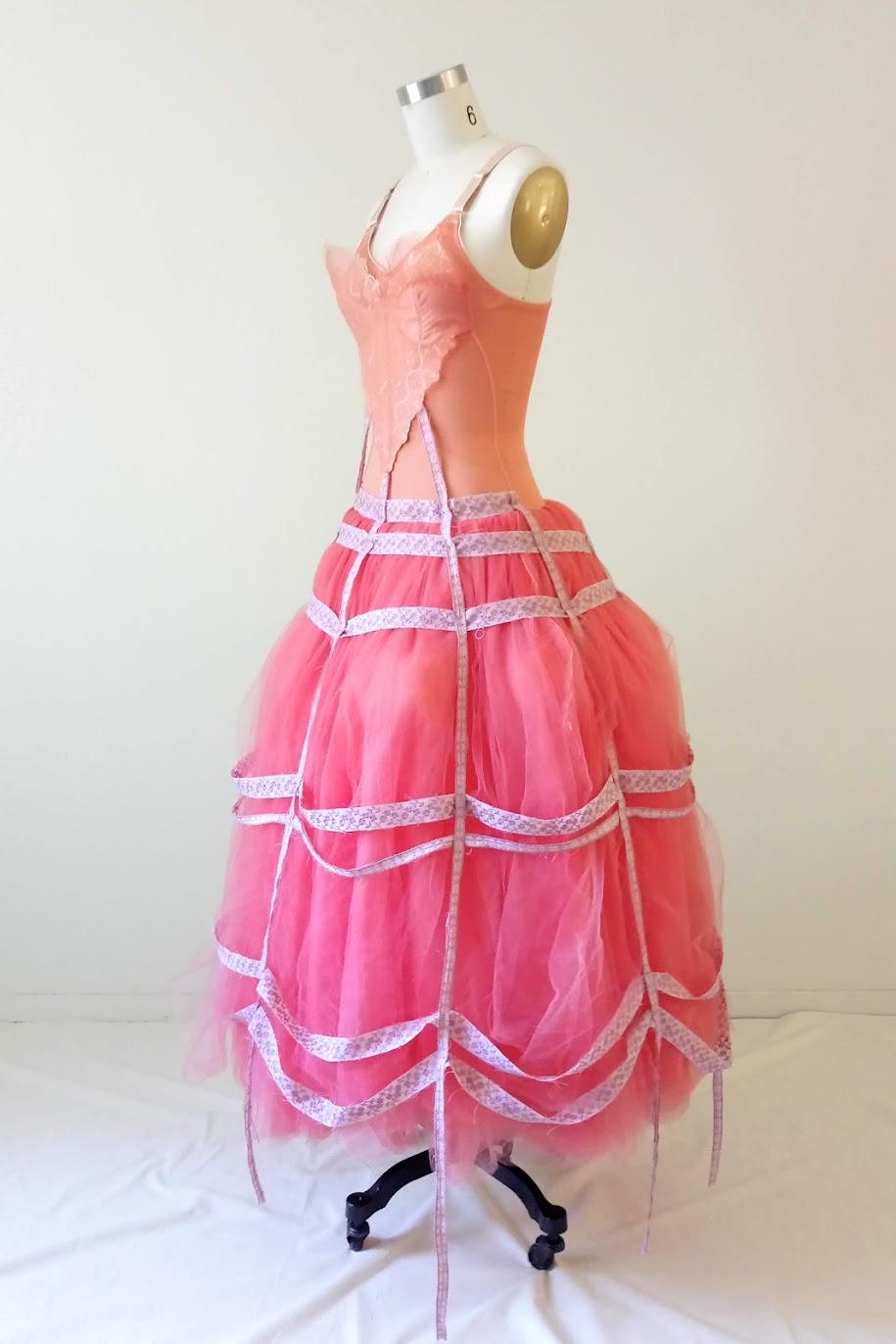 Result: Bubblegum Dreaming Cage Dress - DIY Fashion Garment   fafafoom.com