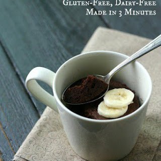 Paleo Chocolate Mug Cake.