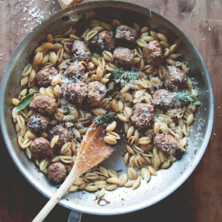 Cavatelli with Fennel Sausage and Brown Butter and Crispy Sage