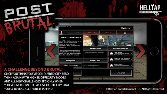 Post Brutal: Zombie Action RPG- screenshot thumbnail