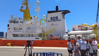 Un acuerdo internacional hace posible el desembarco en Malta.