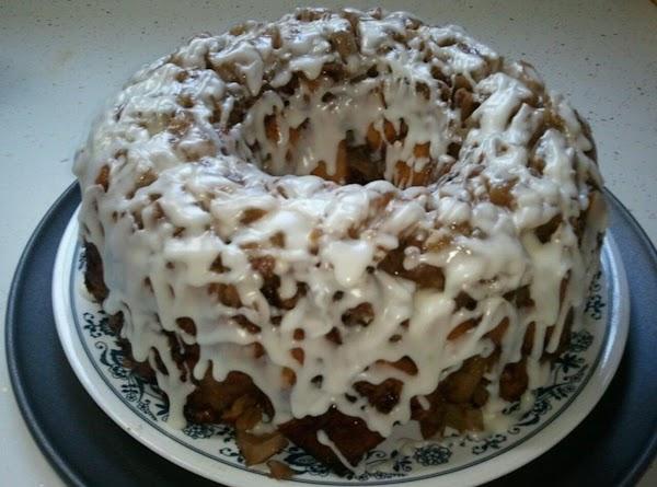 Upside Down Cinnamon Apple Coffee Cake Recipe